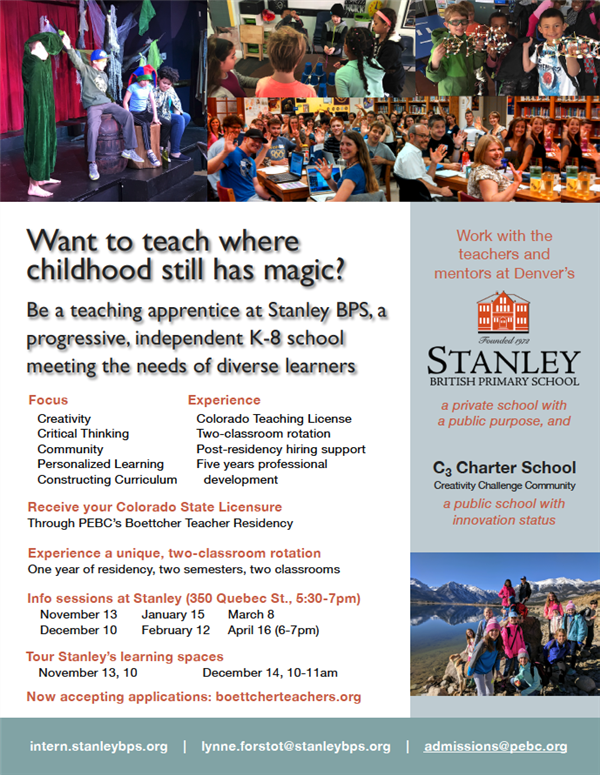 Stanley Residents flier