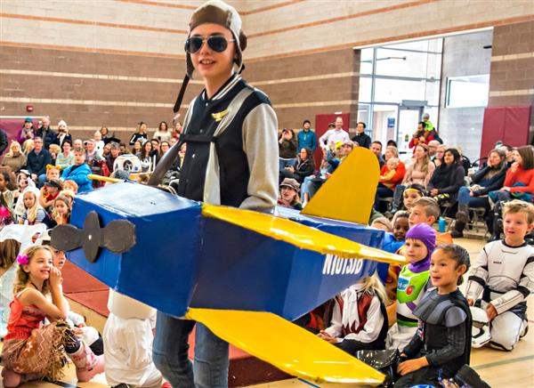 Schoolwide challenge: Homemade Halloween Entries due Oct. 27