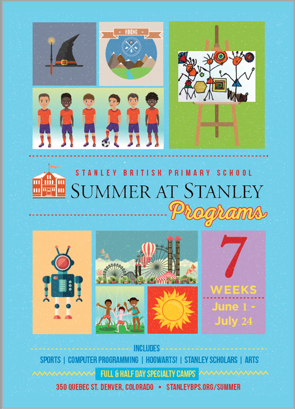 Summer at Stanley Flier