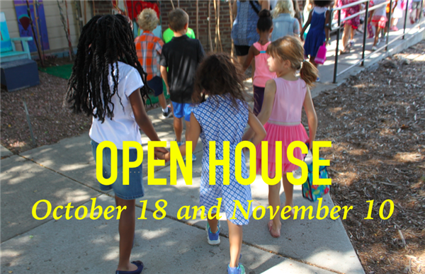 Open Houses Oct 18 and Nov 10